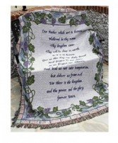 The Lord's Prayer Afghan