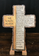 The Lord's Prayer Cross