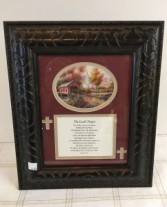 "The Lord""s Prayer Framed print"