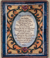 The Lord's Prayer Quilt/Throw