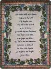 "The Lord's Prayer Throw (50"" x60"")"