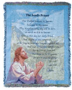 The Lords Prayer Throw