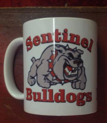 Sentinel bulldog coffee cup Bulldog gift