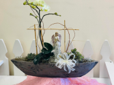 The Magnificent Orchid and Succulent Centerpiece