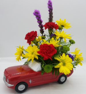 The Mustang   in Presque Isle, ME   COOK FLORIST, INC.