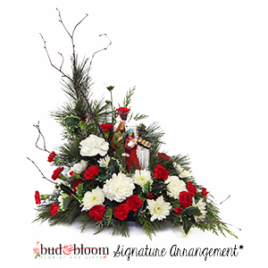 *SOLD OUT* The Nativity Bud & Bloom Signature Arrangement