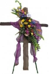 The Old Rugged Cross Standing Cross Spray