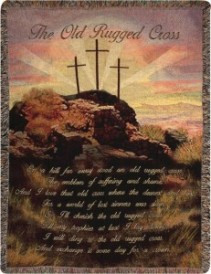 The Old Rugged Cross Throw