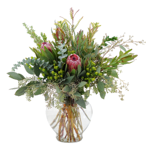 The Organics Centerpiece in Kannapolis, NC | MIDWAY FLORIST OF KANNAPOLIS