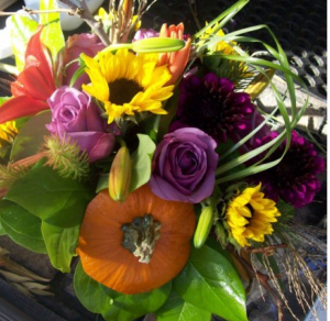 The Original Pumpkin  Customize Fresh Floral arrangement  in Colorado Springs, CO | A Flower Girls Dream