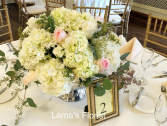 The overlays & Ivy garland table centerpiece