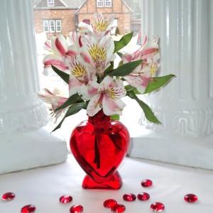 The Perfect Valentine vase arrangement