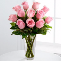 The  Pink Rose Bouquet ROSES
