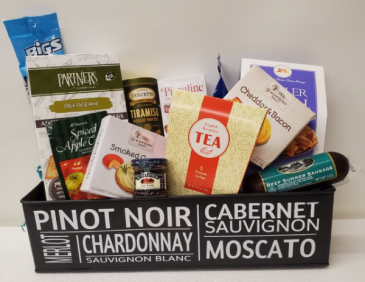 The Pinot Noir Basket Gourmet
