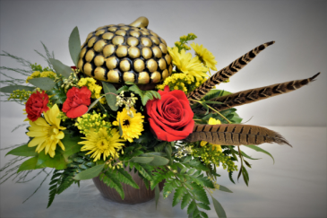 THE POSH ACORN DESIGN FRESH FLOWER ARRANGEMENT