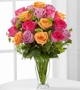 The Pure Enchantment™ Rose Bouquet VASE