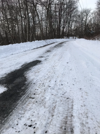 The Reason Delivery Has To Be Flexible Road Conditions 5 Days After A Storm