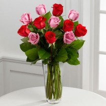 The Red & Lavender Rose Bouquet EF46