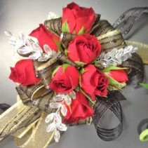 The Red Queen Wrist Corsage