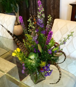 Moonlight Feather Designers Choice of Seasonal Mixed Flowers