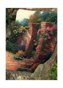 """The Rose Garden 50"""" x 60"""" Throw"""