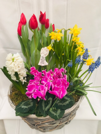The Scent of Springtime Planter Basket