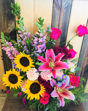 The Secret Garden Fresh Floral Design