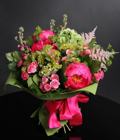 The Show Must Go On!  Bouquet of Seasonal Flowers