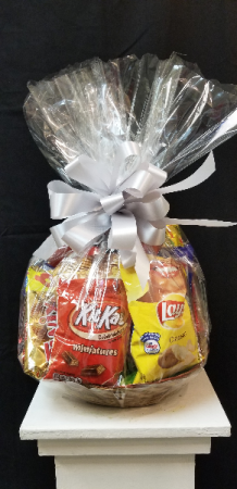 The Snack Attack Gourmet Basket in Tampa, FL | APPLE BLOSSOMS FLORAL DESIGN