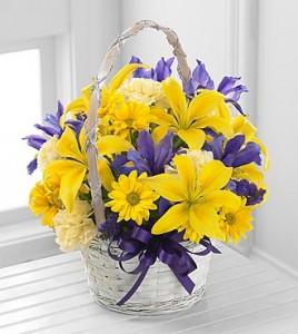 The Spirit of Spring Basket