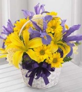 The Spirit of Spring™ Basket by FTD® - BASKET INCL