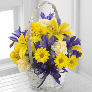 The Spirit of Spring™ Basket by FTD®  in Valley City, OH | HILL HAVEN FLORIST & GREENHOUSE