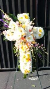 The St John Cross Funeral Flowers