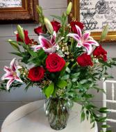 The Stars & Roses Vase