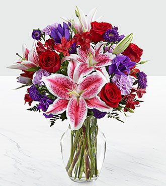 The Stunning Beauty™ Bouquet by FTD® Arrangement