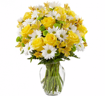The Sunny Sentiments Bouquet by FTD