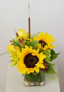 The Sunny Side of Love  fresh flowers