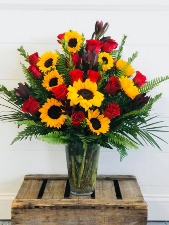 The Sunshine Dozen Floral Arrangement