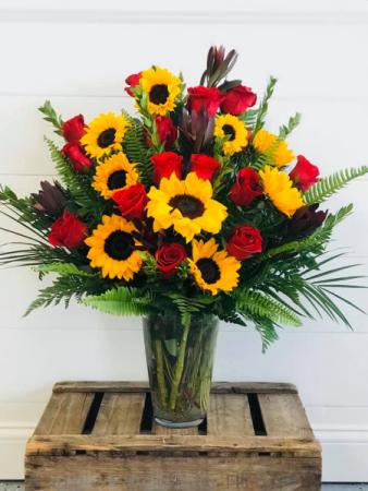 The Sunshine Dozen Floral Arrangement