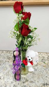 The Sweetheart Bundle Flower and Gift Bundle