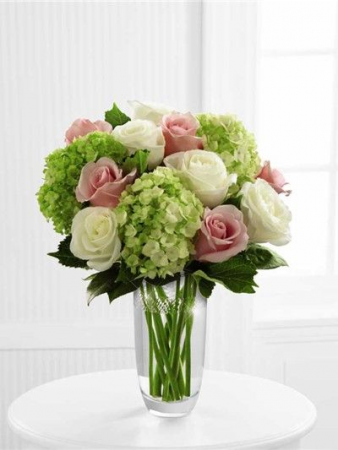 The Sweetness of Sherbert Hydrangeas and Roses