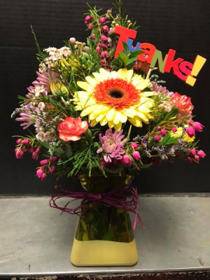 The Thanks Bouquet  in Morinville, AB | THE FLOWER STOP & GIFT SHOP