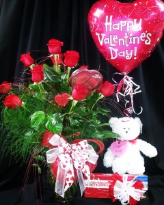 The Total Package Valentine's Day in Midland, TX | Becky's Flowers