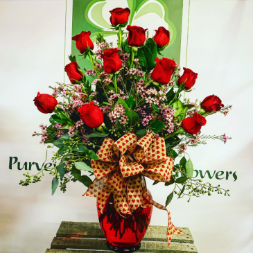 The Traditional Dozen Roses