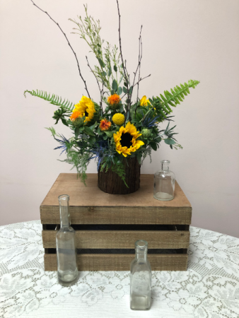 The Tree Hugger Fall Arrangement