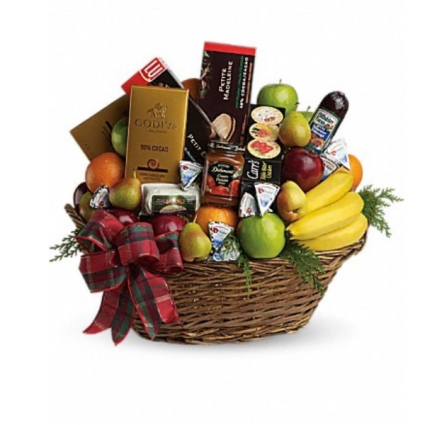 The ultimate Christmas basket Christmas