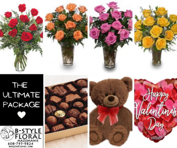 The Ultimate Package Roses