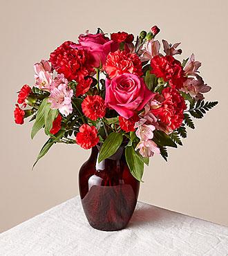The Valentine Ruby Vase