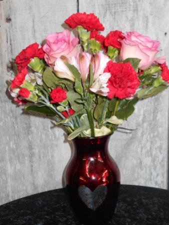 The Valentine Valentine arrangement