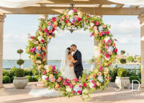 The Wedding Wreath  Photo Credits: J&D Productions Ceremony Wedding Wreath